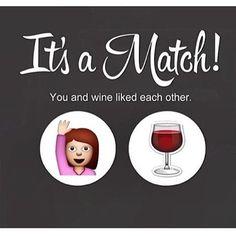 tinder wine match