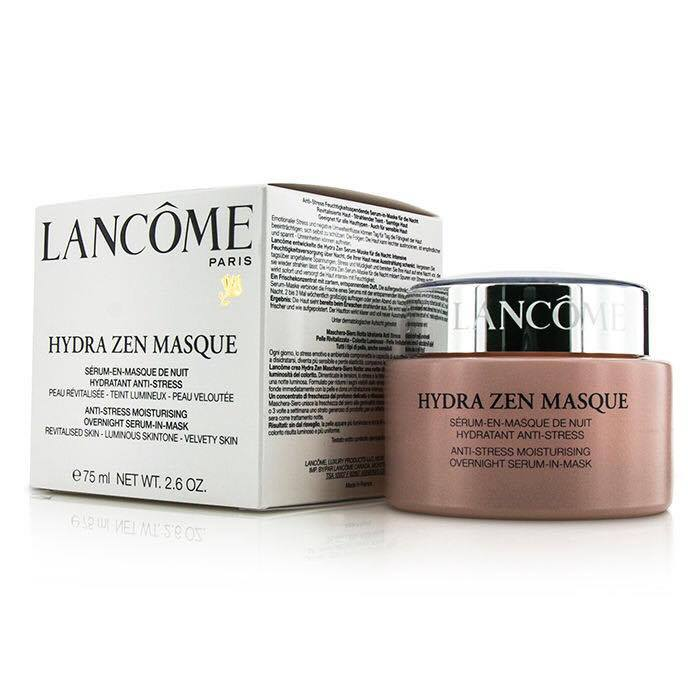 lancome hydra zen masque how to use