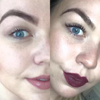 eyelash extension difference